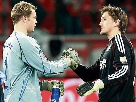 Podia ter sido ele Neuer… e não foi