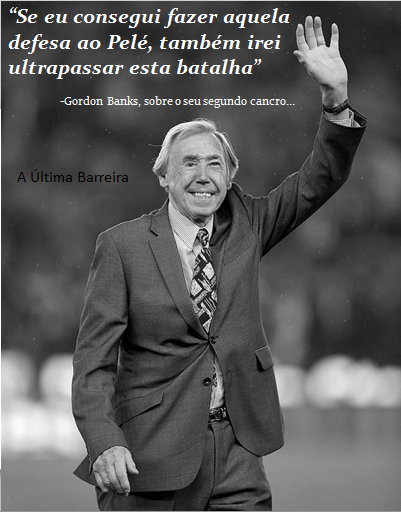 Diagnosticado o segundo tumor em Gordon Banks…