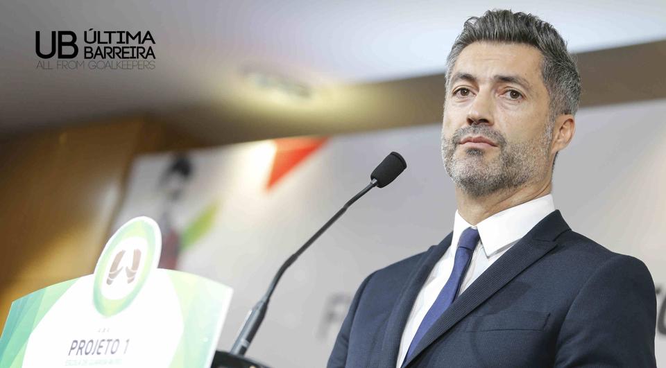 Vitor Baía sai em defesa de Patrício