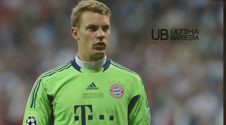 Neuer é o melhor pelo 3ºano seguido!