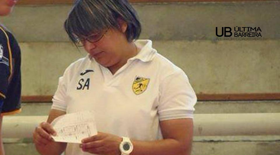 #1 Sara Almeida – Treinadora GR Santa Luzia FC