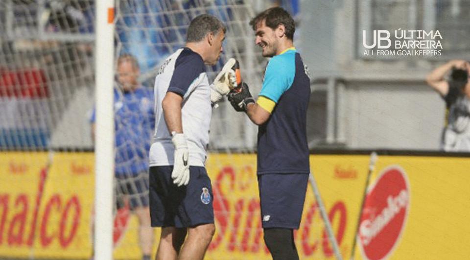O treino de GR com Arevalo, no FC Porto