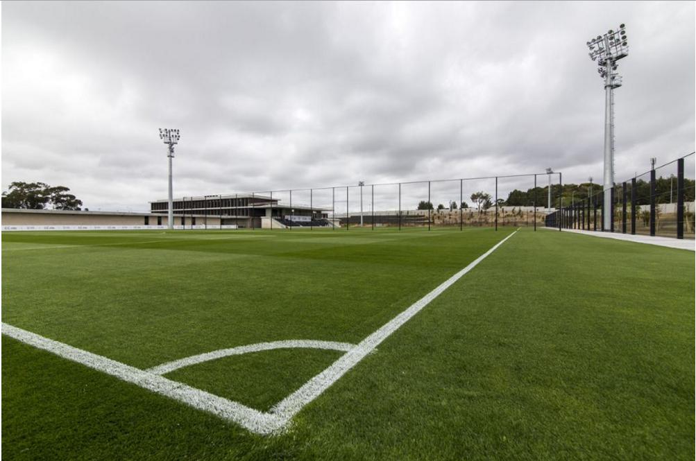 A Cidade do Futebol terá um campo para o treino de GR!