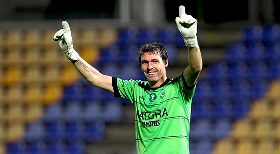 Taborda regressa à Primeira Liga