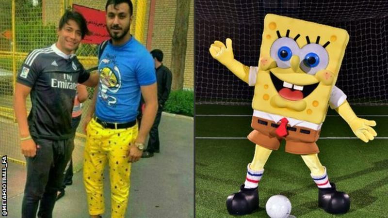 Guardião iraniano suspenso… graças ao Sponge Bob!