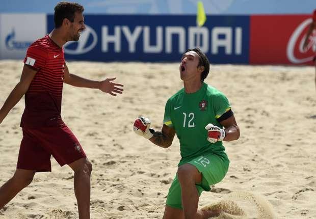 (Fut.Praia) O melhor jogador e guarda-redes no Europeu!