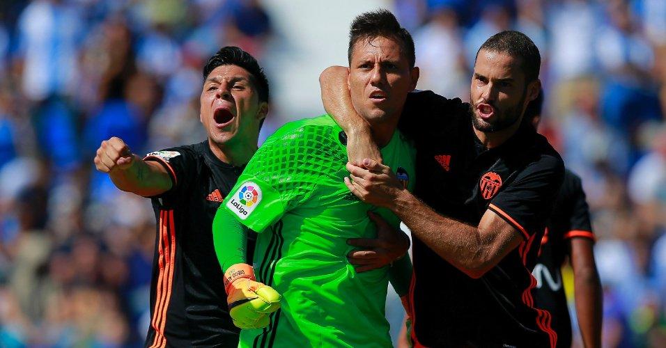 Diego Alves já é o melhor da história em Espanha… nos penaltis.