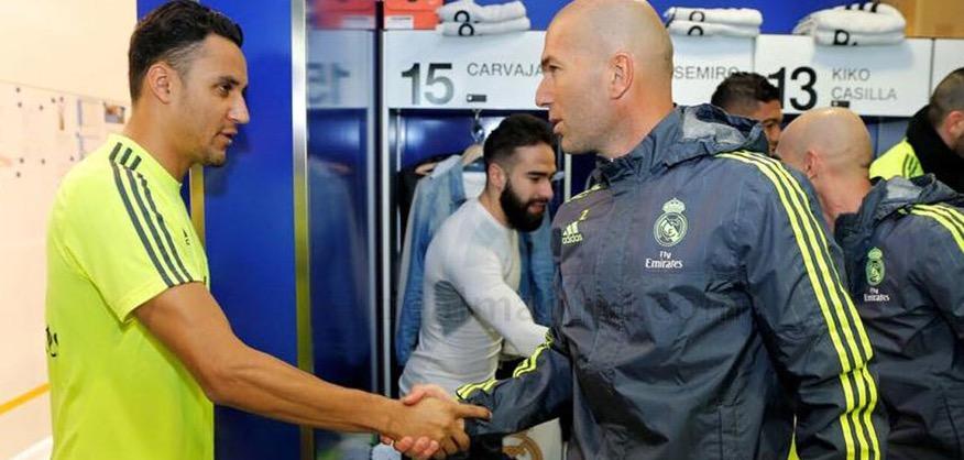 Keylor Navas não devia ter ido a Dortmund, Zidane