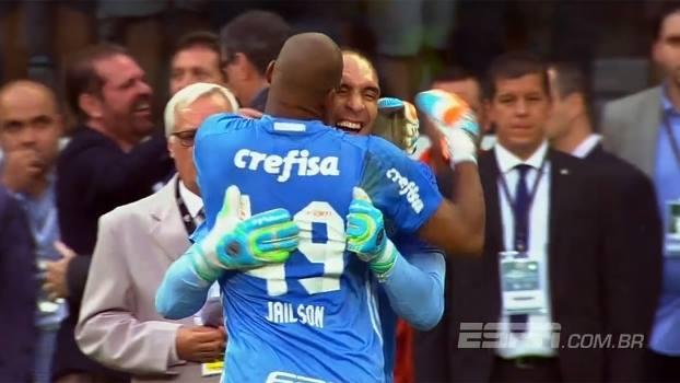 Palmeiras é campeão e faz justa homenagem a Prass (video)