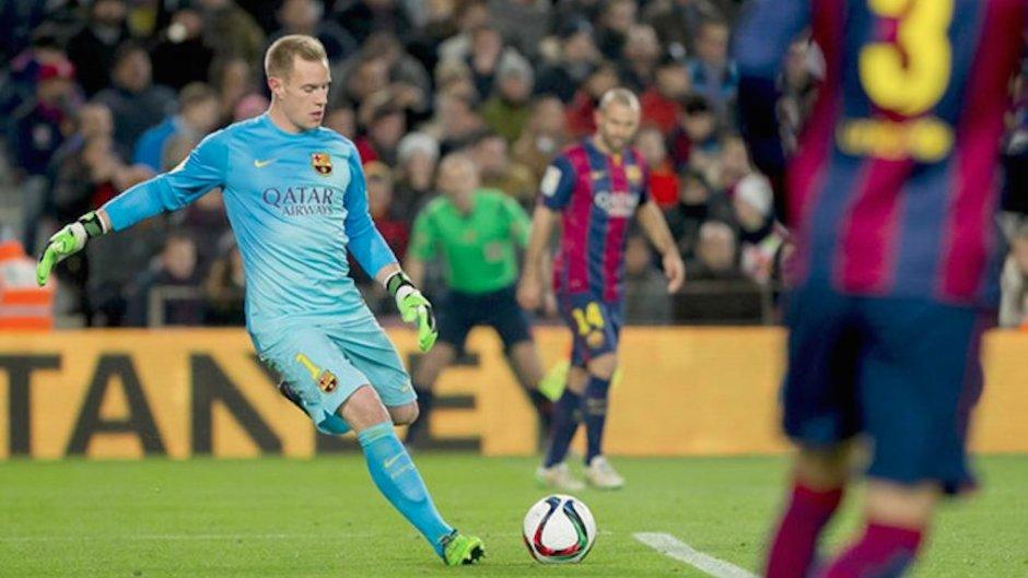 Ter-Stegen melhor que todo o plantel do Manchester City e até Messi!