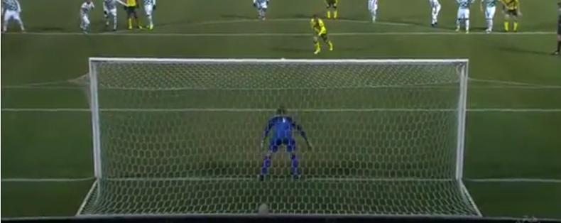 Makaridze impediu o Paços de sonhar com a remontada! (video)