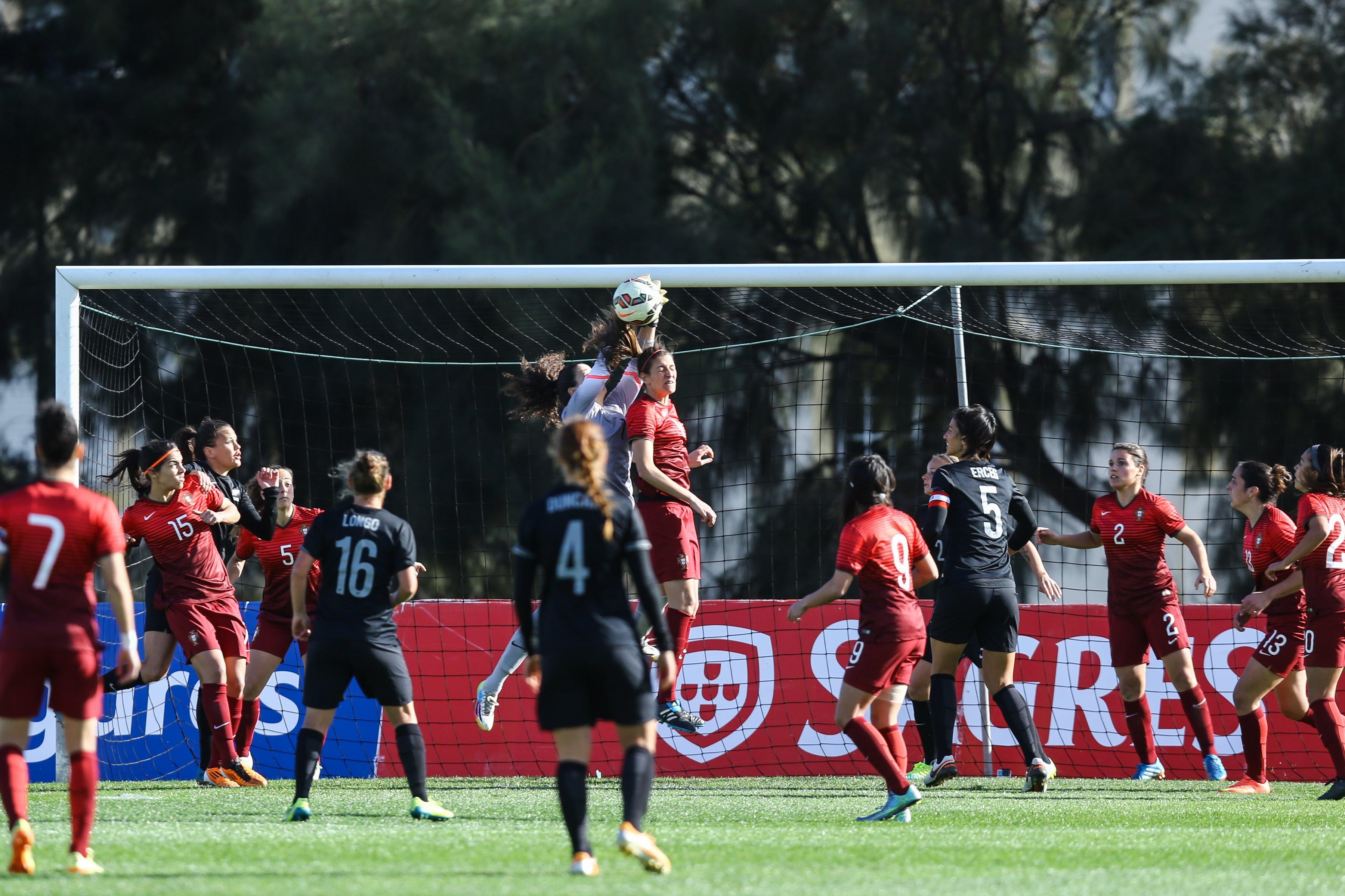 Algarve Cup: As convocadas na baliza da seleção feminina de futebol