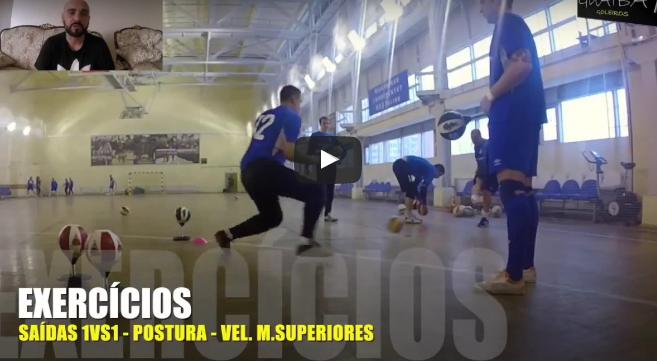 Futsal: Tutorial de técnica base e exercícios – 1 (video)
