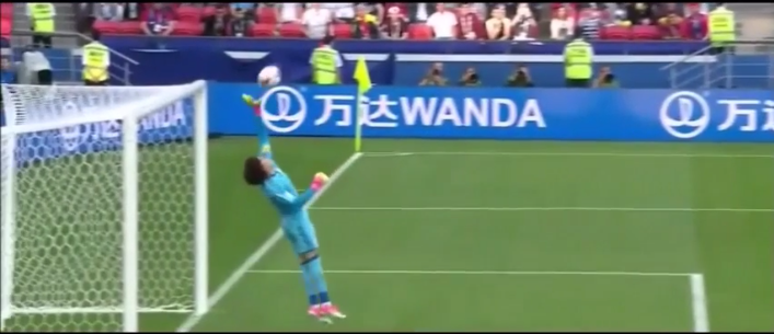 Grandes defesas de Ochoa para desespero de Portugal (video)