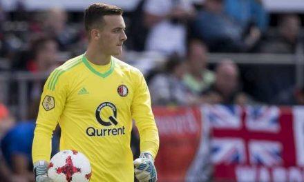 A estreia pelo campeão Feyenoord aos 19 anos. Justin Bijlow (video)