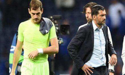 A razão para Iker Casillas deixar de jogar. Tudo a ver com o treino (video)