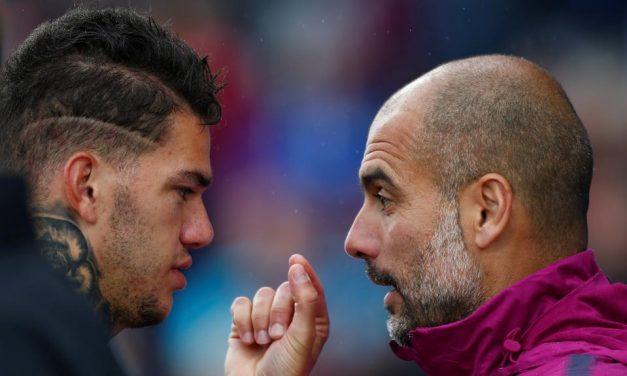 Como Ederson Moraes se envolve no jogo do Manchester City (video)