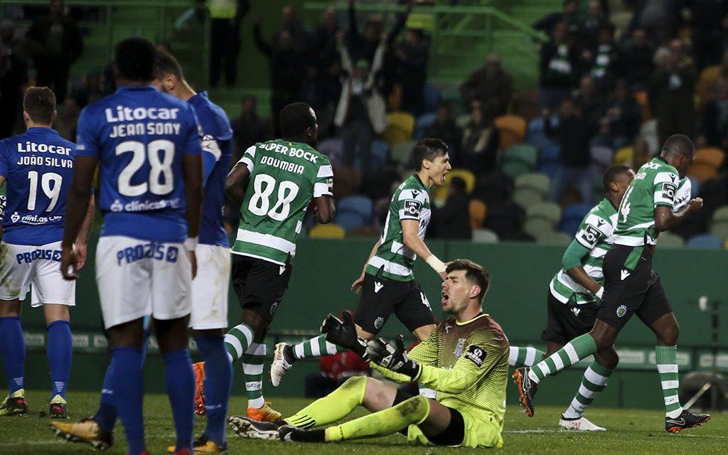 Caio (quase) Secco(u) o Sporting em Alvalade! (video)