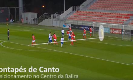 """O posicionamento do guardião – """"Esquemas Tácticos Defensivos"""" por Fernando Ferreira"""