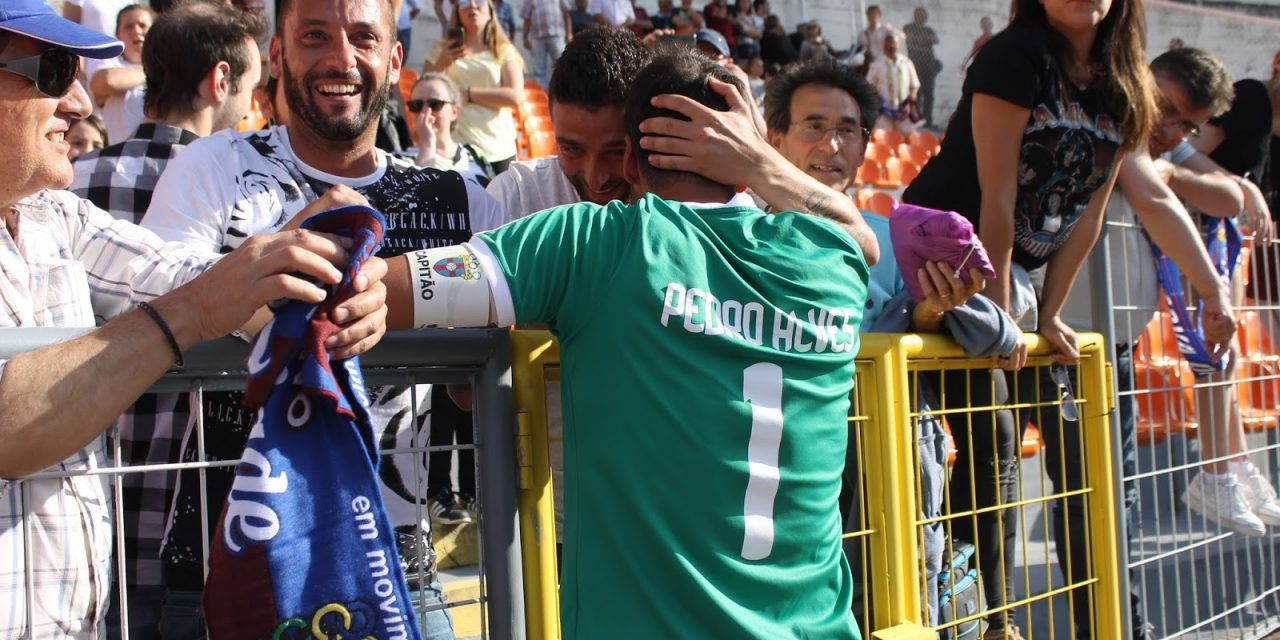Pedro Alves pendura as luvas. É o fim da sua carreira como guardião! (video)