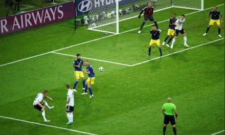 No fim, tudo se resume ao último momento. Robin Olsen contra a Alemanha (Análise e Video)