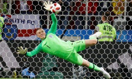 E estas defesas nos penaltis de Ospina e Pickford no Mundial 2018?! (video)