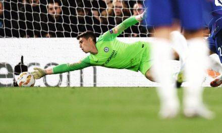 O impacto de Kepa Arrizabalaga no Chelsea nos últimos 3 jogos… com grandes defesas! (VIDEO)