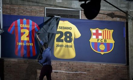 A incrível despedida dos pavilhões de Paco Sedano, pelo Barcelona (VIDEO)