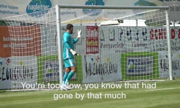 O que dizem os guarda-redes em campo? O Watford colocou-lhes um microfone para saber (VIDEO)