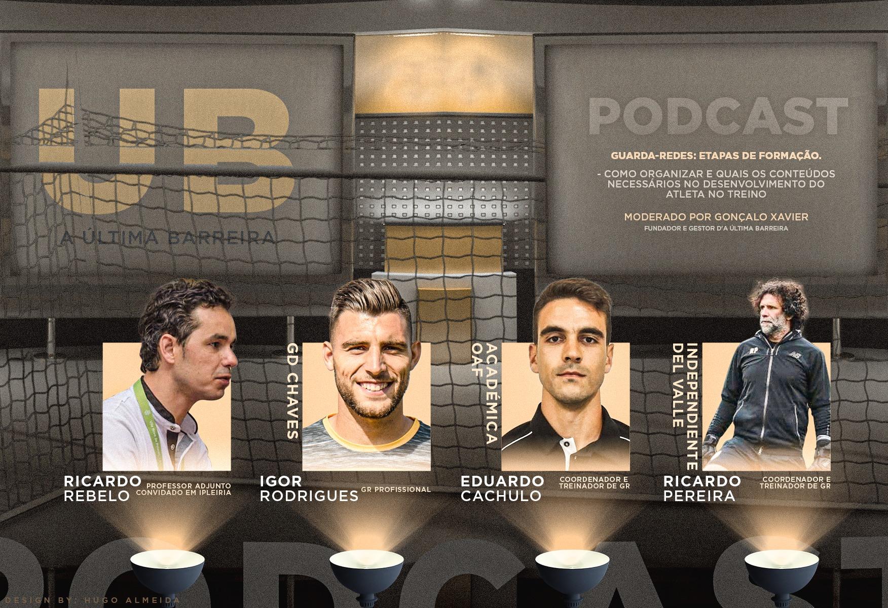 """5# Podcast UB (Mesa Redonda): """"Guarda-redes: Etapas de Formação"""""""