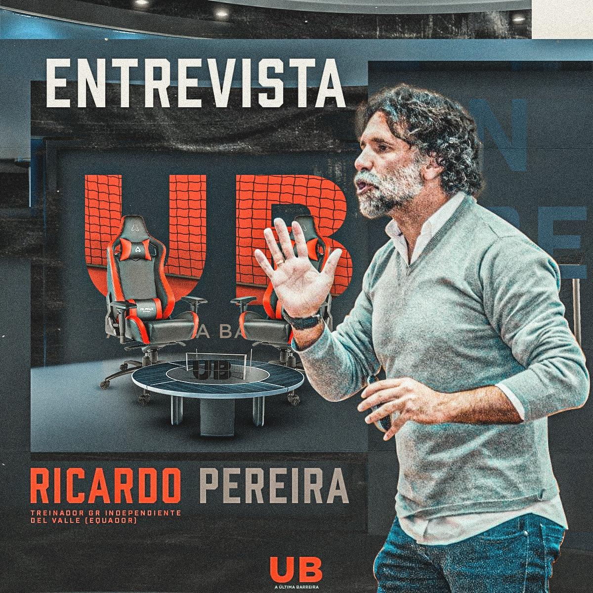 6# Podcast A Última Barreira: Entrevista a Ricardo Pereira (Independiente del Valle)
