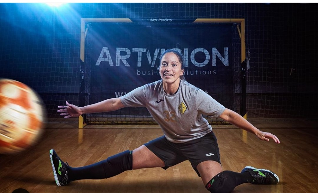 """Futsal Feminino: Naty termina a carreira – """"Chegou a hora… a minha hora de deixar as balizas"""""""
