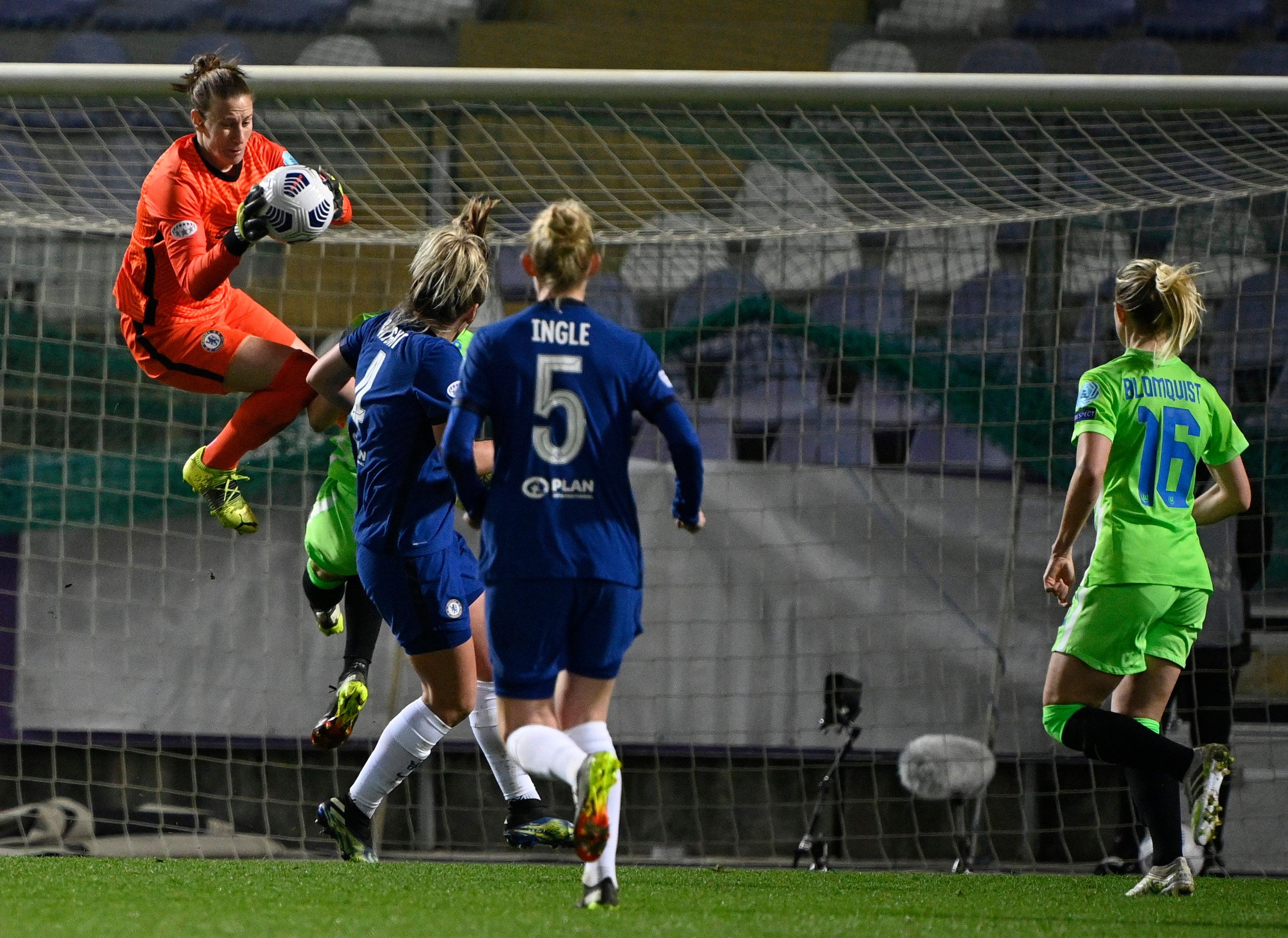 A primeira mão dos Quartos-Final da Liga dos Campeões Feminina trouxe defesas incríveis! (VIDEO)