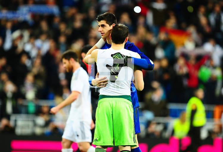 Casillas vs Courtois…