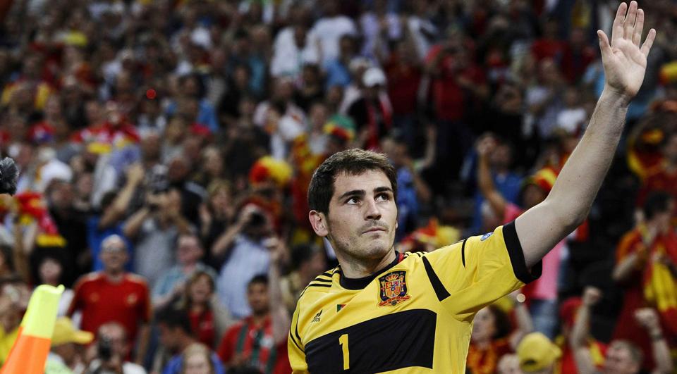 Casillas é o mais internacional de sempre na Europa