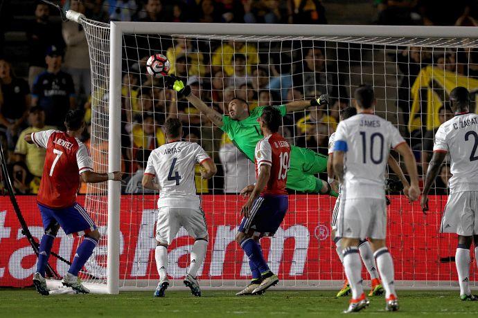 Qual foi a melhor defesa na fase de grupos da Copa América?