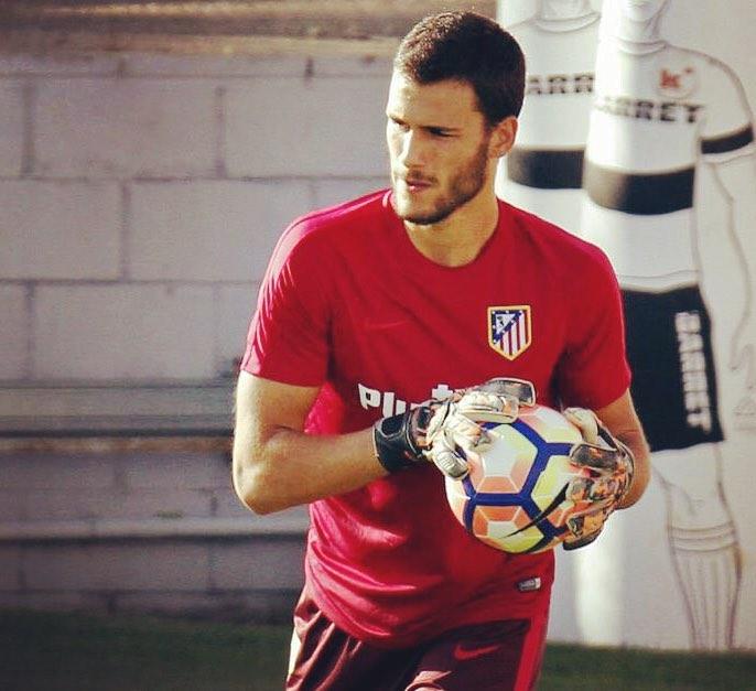 André Moreira já treina com o Atlético de Madrid