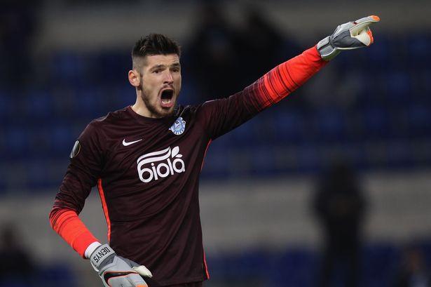 Boyko é emprestado ao Málaga