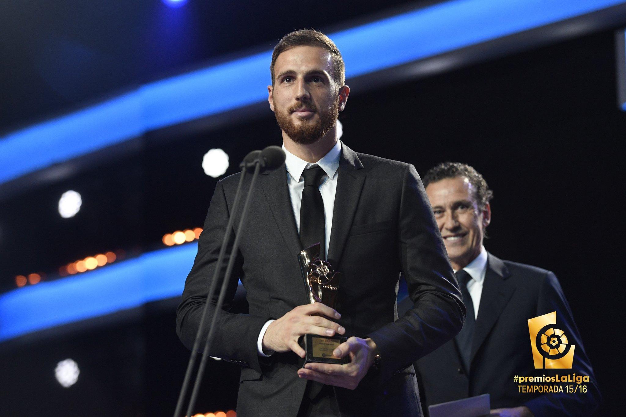 Jan Oblak eleito o melhor em Espanha em 2015/16!