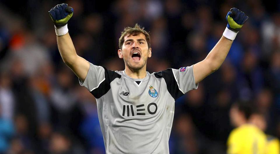 Casillas é o mais vitorioso na história da Champions