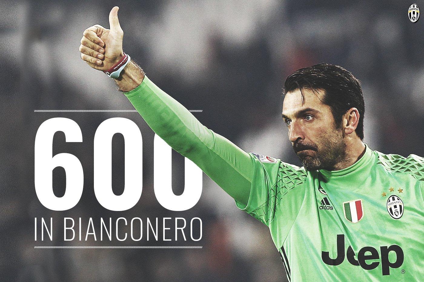 Buffon chega aos 600 jogos pela Juventus!