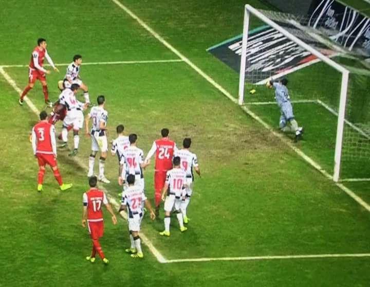 Uma brilhante defesa de Vagner ou golo do Braga? (video)