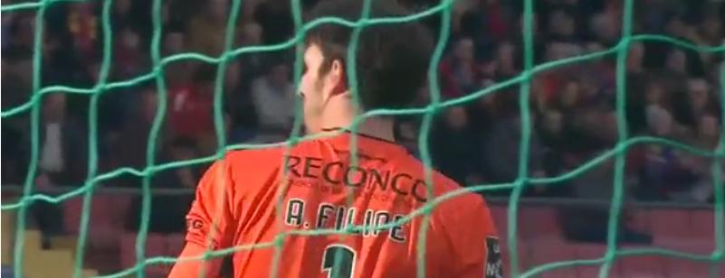 A exibição perfeita de António Filipe vs Arouca! (video)
