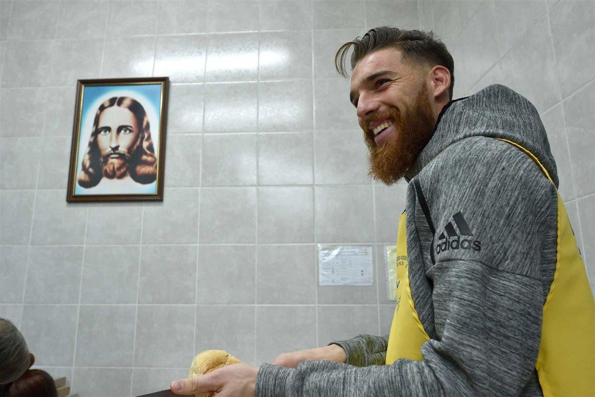 José Sá em ajuda comunitária no Porto