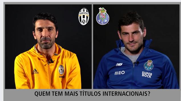 Iker Casillas e Gigi Buffon em Quiz! Imperdível (video)