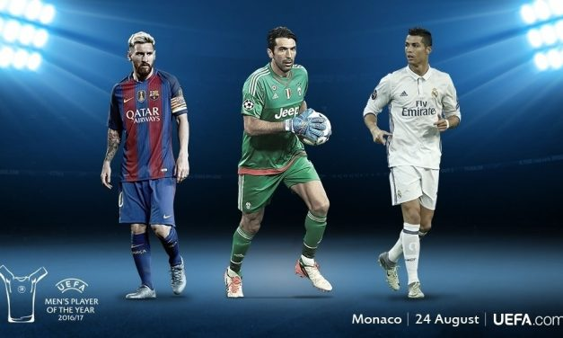 Buffon entre Ronaldo e Messi para jogador do ano da UEFA!