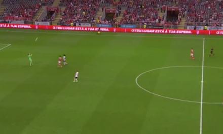 Na Europa, o Braga tem marcado golos insólitos. Eis mais um 😲 … (video)