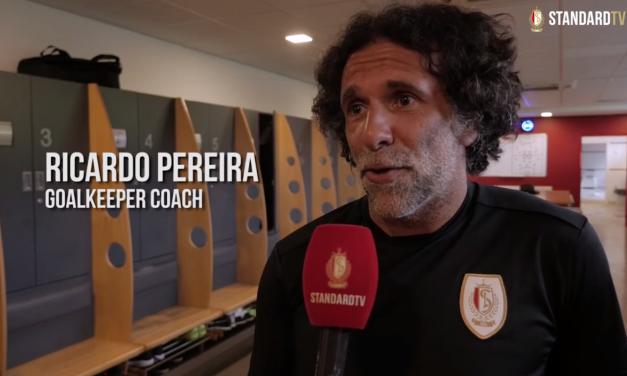 Ricardo Pereira em treino no Standard Liège (video)