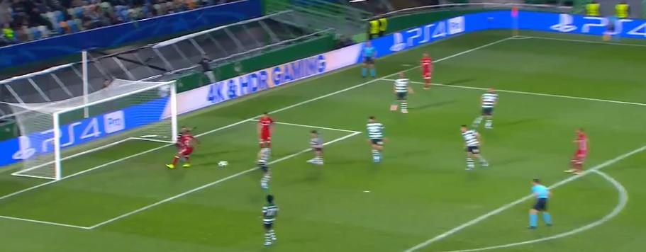 O golo do Olympiakos em Alvalade. Obstrução ao guardião ou não? (video)