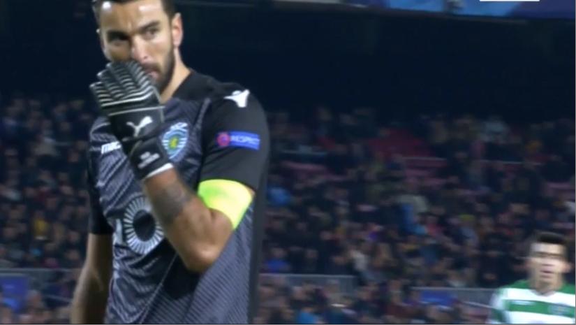 Rui Patrício em Camp Nou. Consistência e qualidade (video)